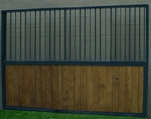 10 ft modular stall sid wall with grills